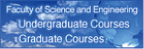 Faculty of Science and Engineering Undergraduate Courses Graduate Course