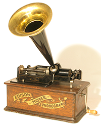 エジソン蓄音機